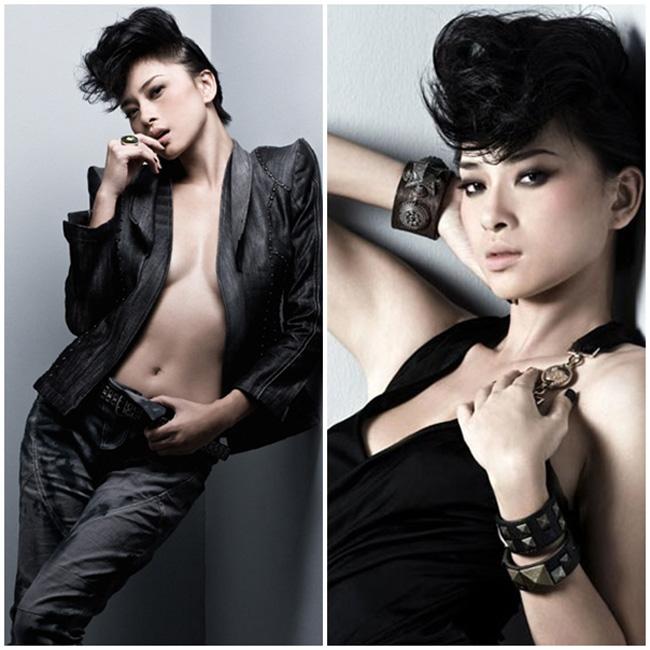 Nổi tiếng là thanh lịch và kín đáo nhưng khi hóa thân thành một cô nàng sexy, Ngô Thanh Vân cũng rất ấn tượng và cuốn hút.