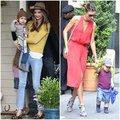"Thời trang - 'Săm soi"" street style cực chất của mẹ con Miranda Kerr"