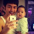 Làng sao - MC Phan Anh khoe con trai thứ ba