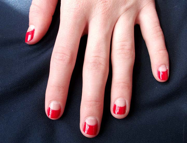 kieu nail vintage cho ky nghi - 9