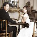 Làng sao - Sao Giày thủy tinh tung ảnh cưới lãng mạn