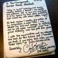 Tin tức - Độc đáo đơn xin nghỉ việc viết trên bánh kem