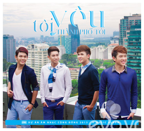 v.music tung album hat ve thanh pho - 1