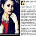 """Làng sao - """"Xung đột"""" sau bài phỏng vấn Hoàng Thùy Linh"""