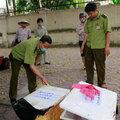 Tin tức - 1 tấn gà tươi sống và nội tạng nghi từ Trung Quốc