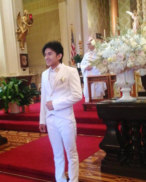 """""""Đột nhập"""" đám cưới hoành tráng của Đan Trường-1"""