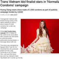 Hương Giang Idol xuất hiện trên báo Anh