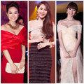 Thời trang - Sao Việt xinh như công chúa với váy trễ vai