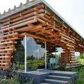 Nhà đẹp - Choáng mắt quán cà phê ghép từ nghìn thanh gỗ