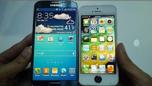 iphone 5 do man hinh cung galaxy s4 - 3