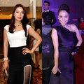Thời trang - 10 bộ váy trắng đen đẹp nhất tuần qua