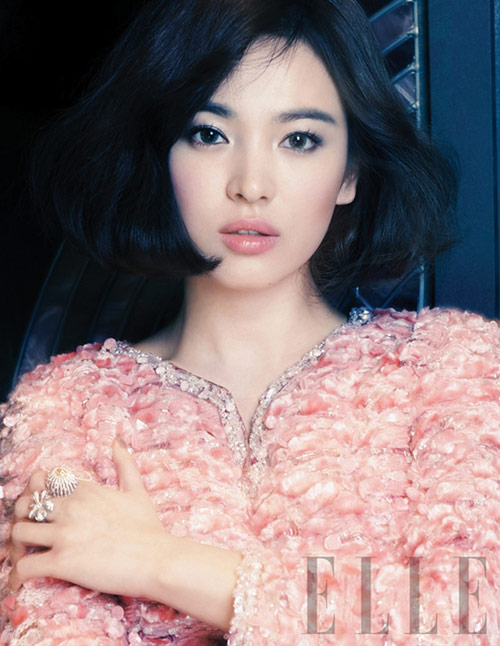"""song hye kyo va bi quyet lan da """"bach tuyet"""" - 1"""