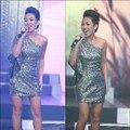 Làng sao - Thảo Trang sexy khoe vai trần trên sân khấu
