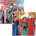Làng sao - HH Ngọc Hân duyên dáng tại Festival làng nghề