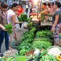 Mua sắm - Giá cả - Giá rau tăng đột biến sau nghỉ lễ