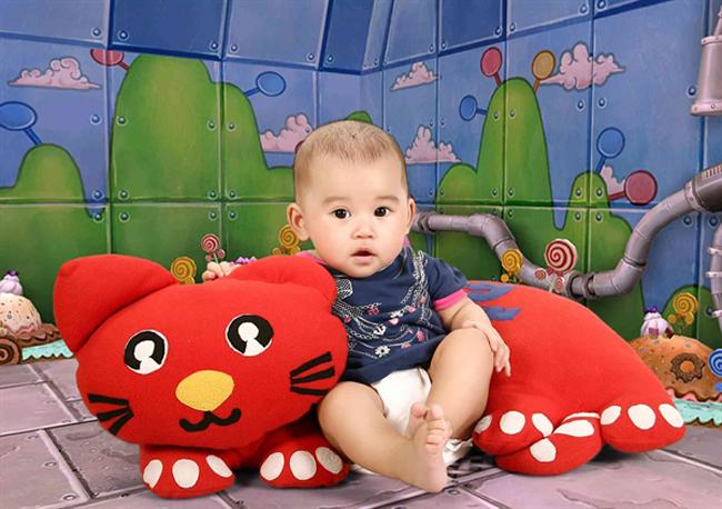 Cún Na là tên thân mật đáng yêu của bé Nguyễn Vũ Ngọc Anh đó nha.