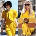 Thời trang - Vàng chanh phủ sóng street style