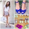 Thời trang - Eva Icon: Cô nàng da nâu chọn sandals mùa hè