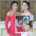 Làng sao - HH Ngọc Hân xinh đẹp bên Trần Thị Quỳnh
