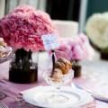 Thời trang - Lãng mạn với tiệc cưới tone hồng tím
