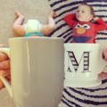 Làm mẹ - Đẹp lạ mốt chụp ảnh cho bé với cốc