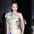 Thời trang - Trúc Diễm diện váy 'độc' dự tiệc
