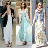 10 cảm hứng váy maxi tuyệt đẹp từ Sao