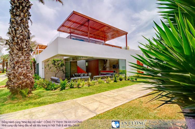 Ngôi biệt thự này nằm tại thủ đô Lima của Peru, là không gian mà bạn sẽ phải mơ ước khi hè đến.