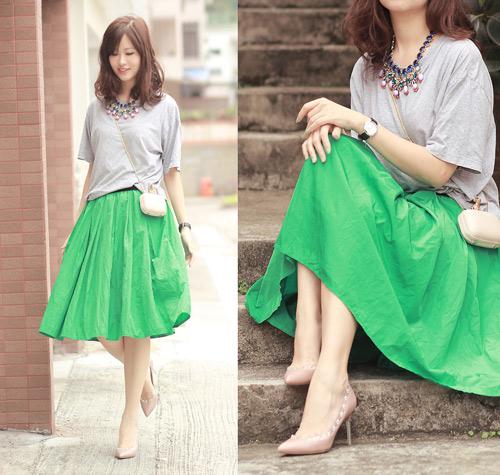 vay xoe nao dang 'tung hoanh' street style? - 19