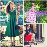Váy xòe nào đang 'tung hoành' street style?