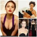 Thời trang - Angelina Jolie gợi cảm với áo váy tôn vòng 1