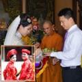 Làng sao sony - Sao Việt làm đám cưới nơi cửa Phật