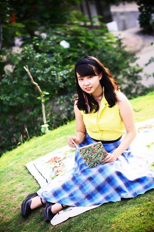 eva dep: co nang 'co dien' me picnic - 9