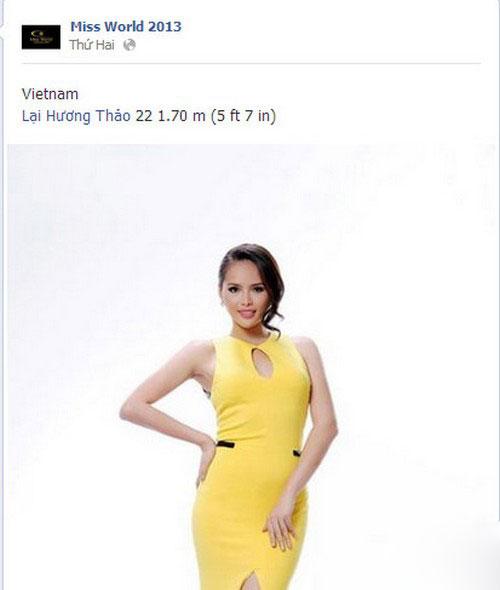 Ai sẽ đi thi Hoa hậu Thế giới 2013? - 4