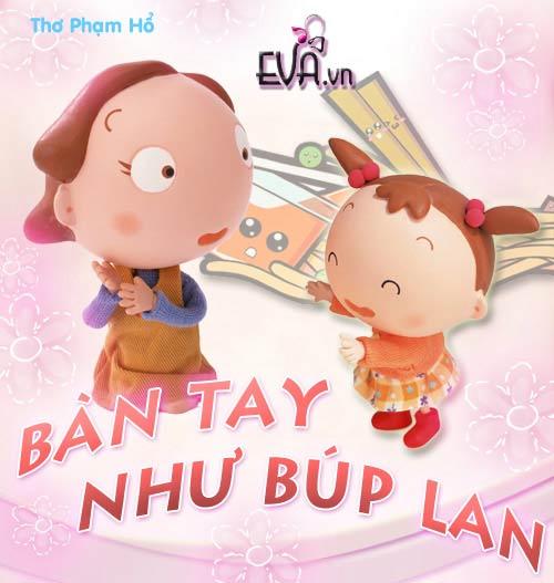 "me ke con nghe: ""ban tay nhu bup lan"" - 1"