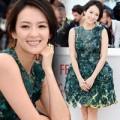 Làng sao - Chương Tử Di sang trọng tại họp báo Cannes 2013