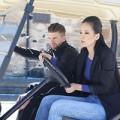 Làng sao - Mai Phương Thúy học lái xe golf cùng trai Tây