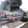 Tin tức - Cháy công ty giày da, công nhân tháo chạy