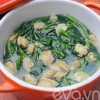 Bếp Eva - Canh ngao rau muống nấu chua