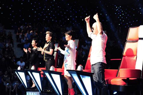 the voice: hong nhung ap dao nho chieu tro - 2