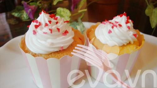 Tự làm bánh cupcake dễ thương - 12
