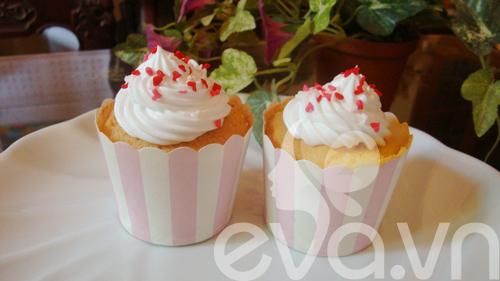 Tự làm bánh cupcake dễ thương - 14