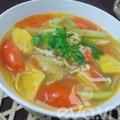 Bếp Eva - Canh nấm nấu chua thanh mát