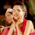 Làng sao - Diễm Hương tươi rói đi chấm thi Hoa hậu