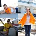 Làng sao sony - Trúc Diễm tự tin thả dáng trên du thuyền Cannes