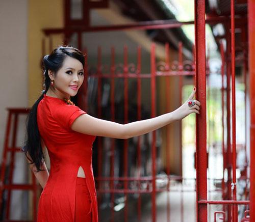huong thao: tu hao neu duoc thi miss world - 4