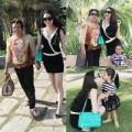 Làng sao - Trà Ngọc Hằng khoe ảnh mẹ và cháu gái đáng yêu