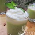 Bếp Eva - Sinh tố bơ, bạc hà mát rượi