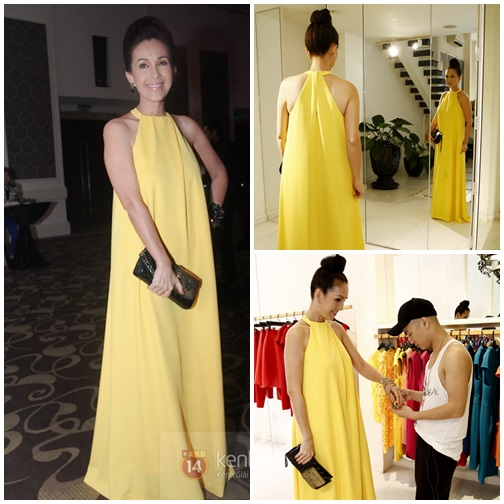 Đẹp - xấu khi Sao Việt diện váy suông - 1