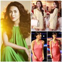 Đẹp - xấu khi Sao Việt diện váy suông